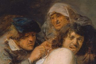 La chirurgie du dos, Adriaen Brouwer, Städel Museum, Frankfurt