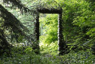 Le passage, installation de Cornelia Konrads