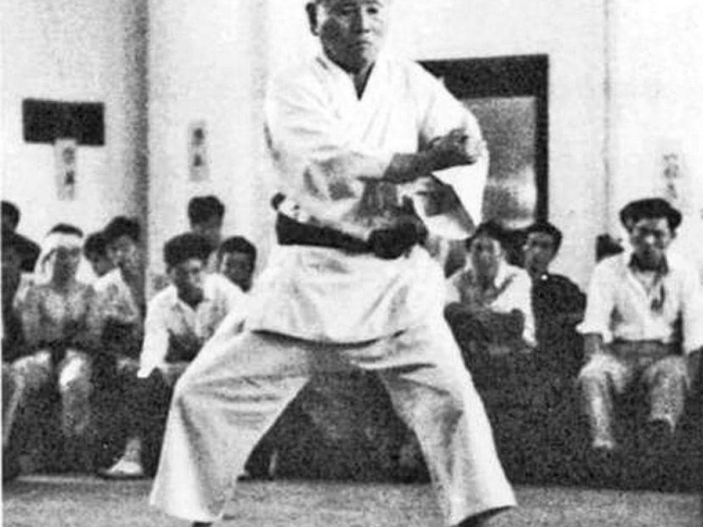 Photographie de 船越 義珍 Funakoshi Gichin (1868 - 1957