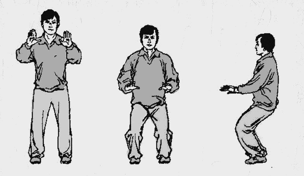 Illustration des trois centres