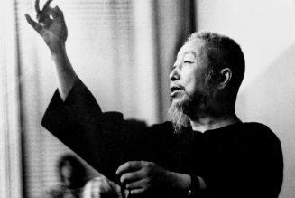 Portrait du professeur Cheng Man Ching par Kenneth Van Sickle