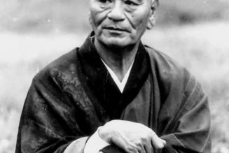 Portrait de Taisen Deshimaru