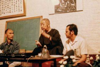 Le professeur Cheng Man Ching avec Ed Young et Tam Gibbs