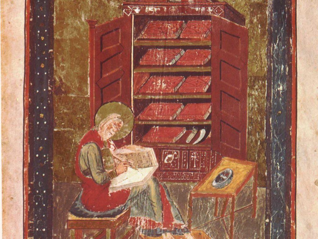 Esdras, alias Cassiodore, in Codex Amiatinus