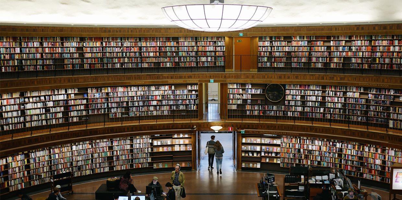 La bibliothèque municipale de Stockholm, Gunnar Asplund