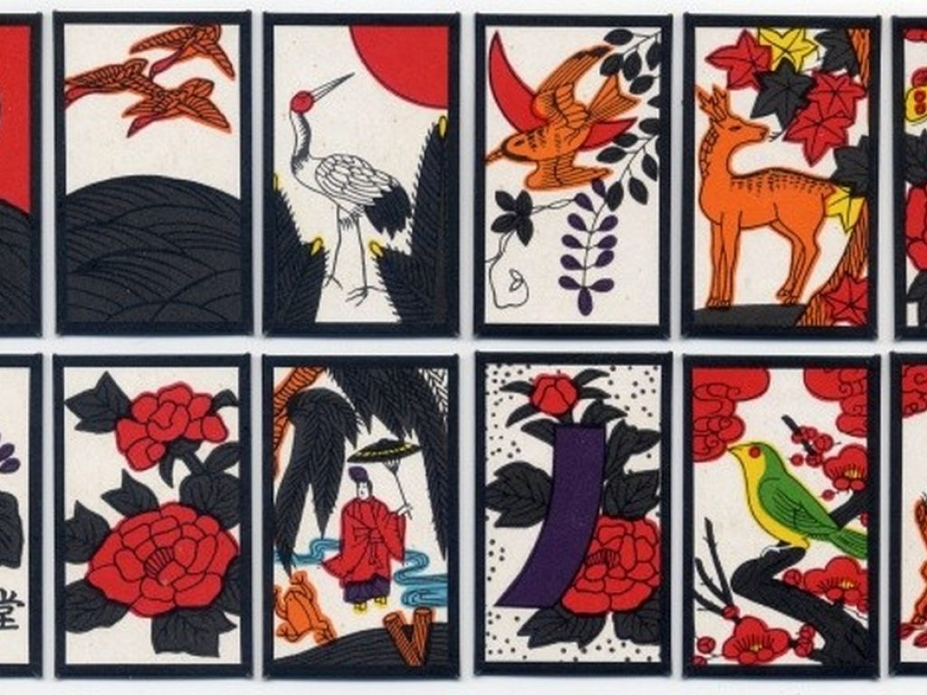 Jeu de cartes d'hanafuda