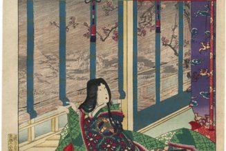 Sei Shônagon (1885), Yôshû Chikanobu (1838-1912)