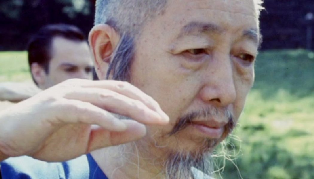 Portrait de Cheng Man Ching avec Tam Gibbs