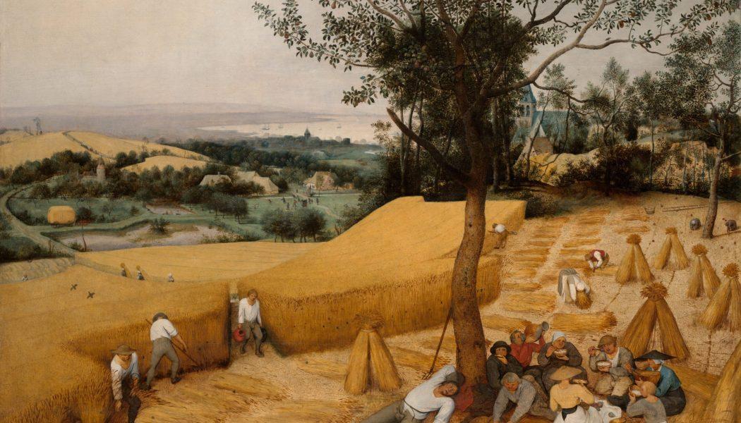 Les moissonneurs, 1565, Pieter Brueg