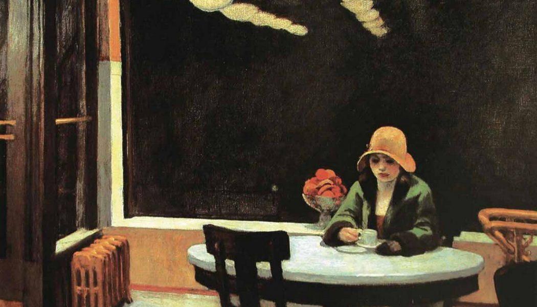 Automat, 1927, huile sur toile, Edward Hopper (1882- 1967)