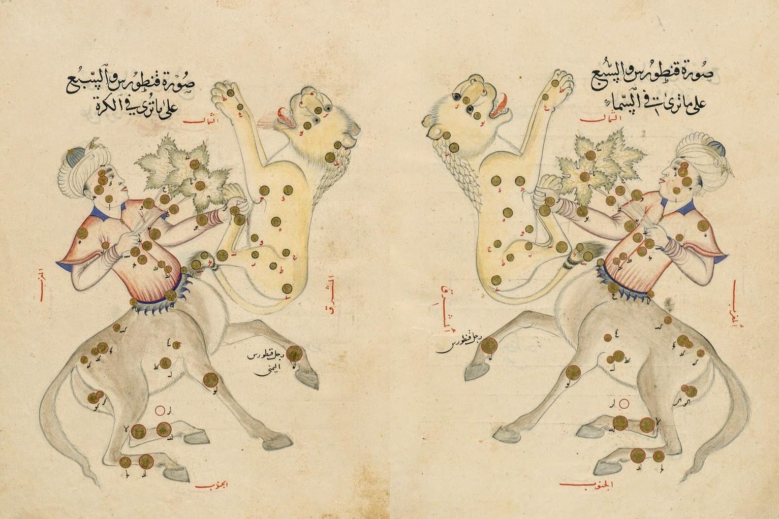 Le livre des images des constellations fixes