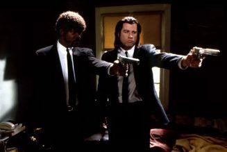 """Pulp fiction : Samuel L. Jackson et John Travolta : """"Ezechiel 25:17"""""""
