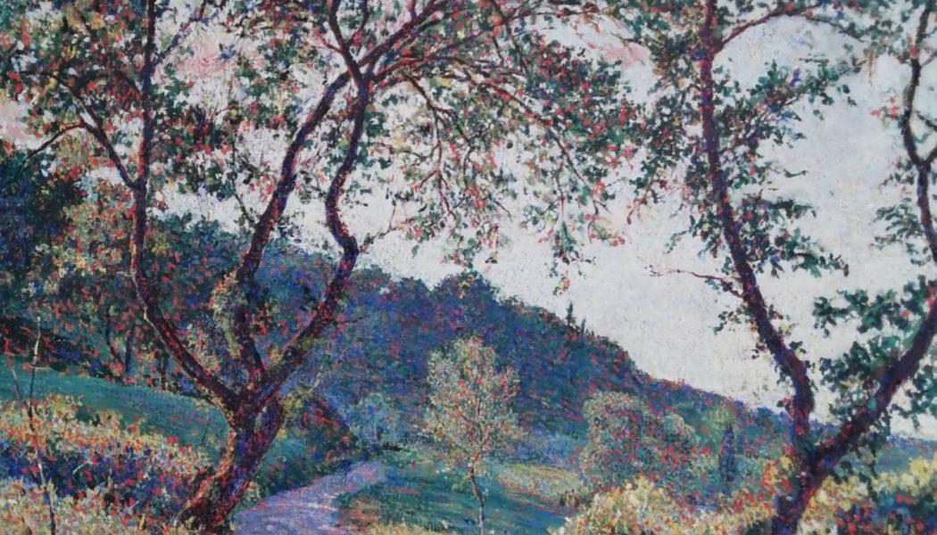 Paysage d'été, 1942, Ferruccio Manganelli
