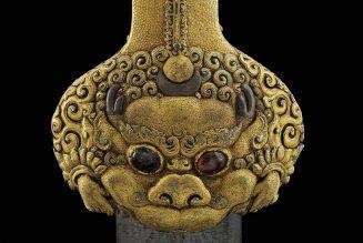 Pommeau d'épée, dynastie Ming