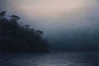 L'ombre de l'hiver, huile sur toile, Michaye Boulter