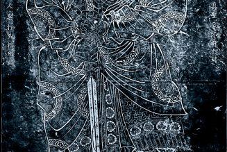 Xuanwu, un frottement d'une stèle dans un temple, probablement à l'époque de la dynastie Song