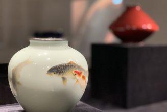 Vase, Ando Jubei (1876-1953), 20e siècle, émail cloisonné et argent, musée Liang Yi
