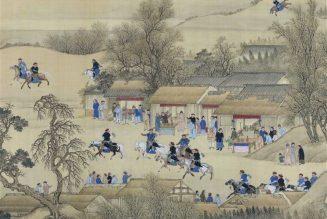 Voyages d'inspection dans le Sud de l'empereur Kangxi