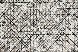 Apparition de croix, 2015, Ding Yi