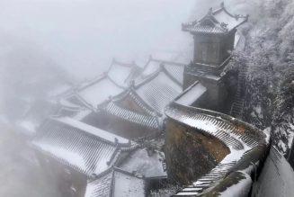 Bâtiments anciens des montagnes de Wudang
