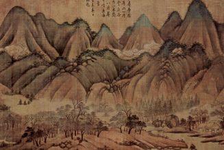 Paysage, Wang Wei
