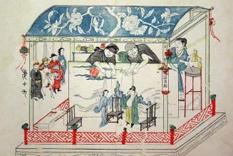 Illustration de La chambre de l'aile ouest