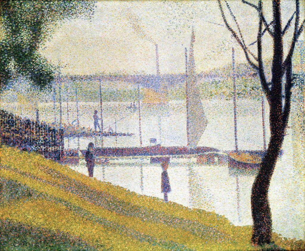 Le Pont de Courbevoie, 1886 et 1887, Georges-Pierre Seurat.