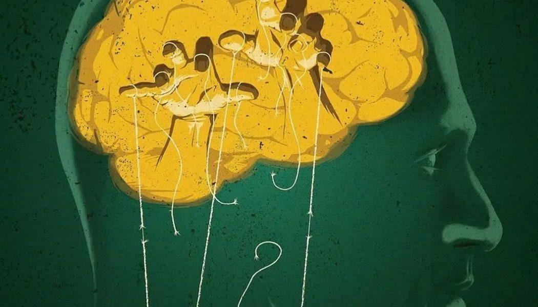 Illustration sur le thème de la conscience par Mark Smith